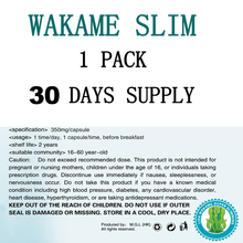 (BUY 2 to get 1 more for free ) Free shipping NEW FORMULA original wakame 30 for Fast weight loss slimming
