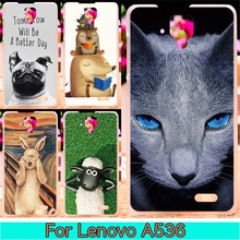 Hard Plastic Phone Case For Lenovo A536 Case A358T 5.0 inch A 536 Cover Phone Shell For Lenovo A 536 Case Cover Housing