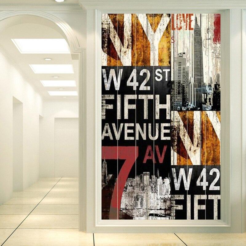 Custom Size Self Adhesive Window Films Glass Sticker Paper Door