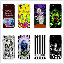 Beetlejuice Handbook new phone case black soft cover for Samsung s8 s9plus S6 S7Edge S5 for iPhone 6 6s 7 8plus 5 X XS XR XSMax