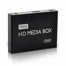 2017 mini HDMI Media Player 1080 P HDD-HDMI Full HD TV Vidéo multimédia lecteur boîte soutien MKV/RM-SD/USB/SDHC/MMC Livraison Gratuite