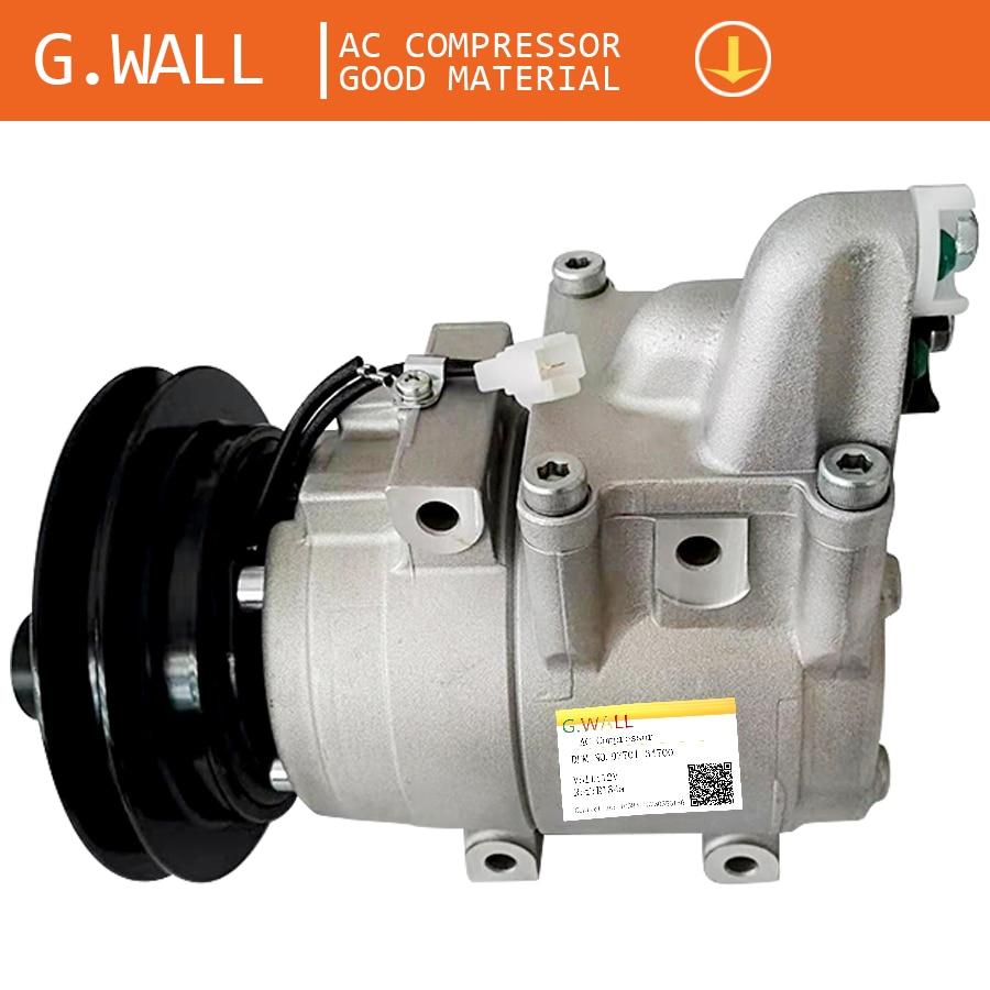 HS15 Air Conditioning Compressor For Car Mazda B2500 B2900 BT50 Ac A/c Compressor OEM# 97701-34700 3645825 UH81-61-450/3636288