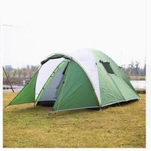 Bärbara utomhustält för camping 3-4 personer utomhustält Vattentät turisttält