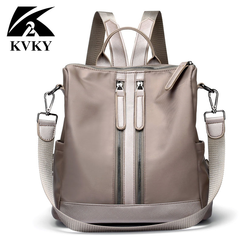 Autumn Backpacks Fashion Woman Backpack Nylon Women Shoulder Bag High Quality Multifunction Laptop Backpack Teenage Travel Bag