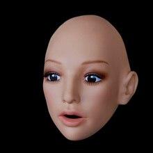 Silicone female masks for crossdressers