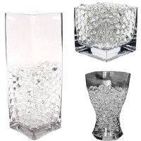 1 kg Bunte Magie Perle vase filler Förmigen Kristall Boden Wasser Perlen Schlamm Wachsen Geleekugeln Startseite Hochzeit Dekoration