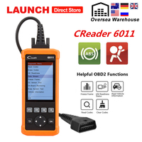 Launch CReader CR6011 OBD2 Scanner Automotive ABS SRS Autoscanner Code Reader Car Diagnostic Scan Tool OBD 2 Diagnosis Universal