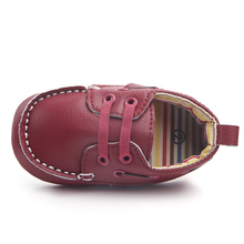 baby boy Leather Moccasin infant boy shoes