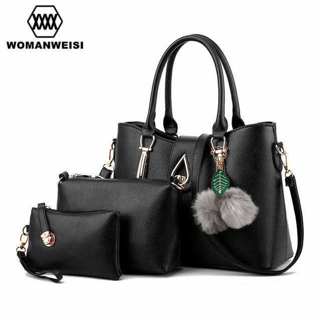 f6aae452918a WOMANWEISI Brand 2018 Luxury Women s Shoulder Messenger Bags PU Leather Crossbody  Sling Bags Handbag For Women