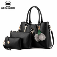 WOMANWEISI Merk 2017 Luxe vrouwen Schouder Messenger Bags PU Lederen Crossbody Sling Handtas Voor Vrouwen Vrouwelijke sac een belangrijkste