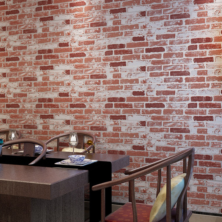 De paredes imitacion piedra tcnicas para decorar una - Pared imitacion ladrillo ...