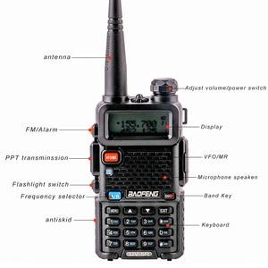 Image 5 - Mới nhất nâng cấp bộ đàm Baofeng UV 5R với 3 Băng Tần 136 174 MHz/200 260 MHz/400 520 MHz Di Động Bộ đàm hàm Đài Phát Thanh CB Giao Tiếp