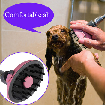 2018 Hight Quality Pet Dog Cat Multifunctional Bath Shower Head Massage Shampoo Sprayer   FG