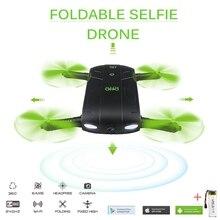 DHD D5 Selfie Dron Z Kamerą Składany Kieszonkowy Rc Drony Telefon sterowania RC Dron Helikopter Fpv Quadcopter Mini VS JJRC H37 523