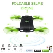 DHD D5 Selfie Drohne Mit Kamera Faltbare Tasche Rc Drohnen Telefon Rc Hubschrauber Fpv Quadcopter Eders VS JJRC H37 523