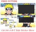 Свободной Резки Новые Красочные Наклейки Ноутбук Наклейки Личности ПВХ Случае Скины Защитные Наклейки Для Dell 15 В 2318/3537/4516