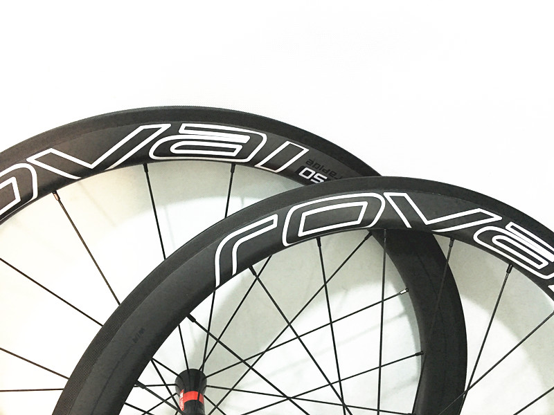 50mm deep 23mm width clincher tubeless compatible 700C carbon fiber cycling road wheel bicycle road wheels