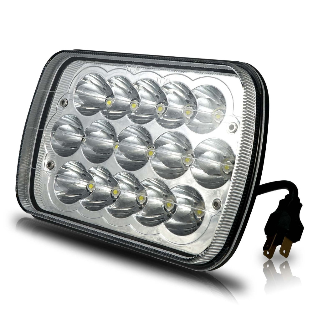 """7x6/""""LED Headlight Lamps Sealed Beam Upgrade for Chevy Colorado Astro C1500 K1500"""