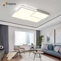 Ultrathin LED Ceiling LED Ceiling Lights Lighting Fixture Modern Lamp Living Room Bedroom Kitchen Surface Mount Remote Control