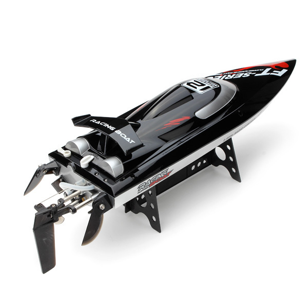 45KM/H,Free Shipping  Hot Sale 100% Original FT012 Upgraded FT009 2.4G Brushless RC Boat remote control boats for kid toys