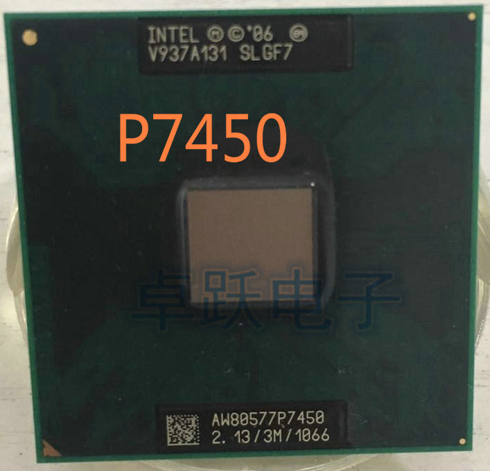 Intel CPU PM45/GM45 Processor Laptop P7450 PGA Slb54/slgf7-Support 3M/1066 Original title=