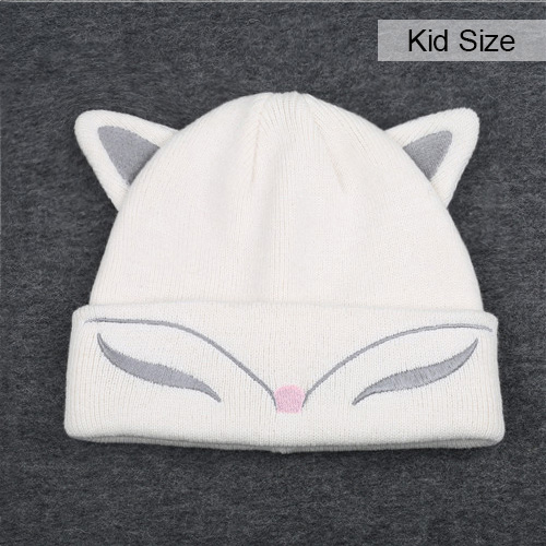 Dropwow FURTALK Woman Knitted Baby Hat Wool Cotton Cuff Beanie Hat ... fa668a7cdb86