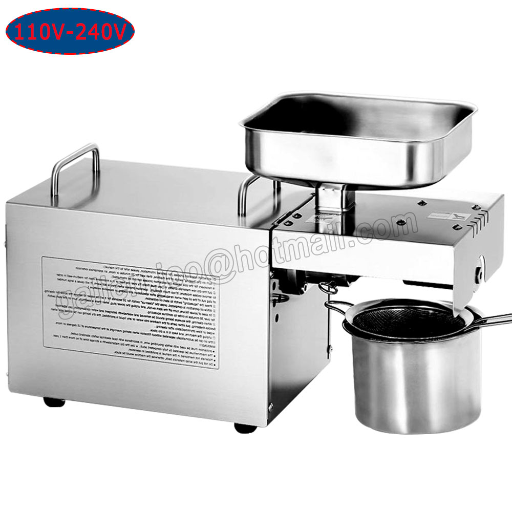 High quality auto oil press machine oil expeller extractor for Food bar press machine