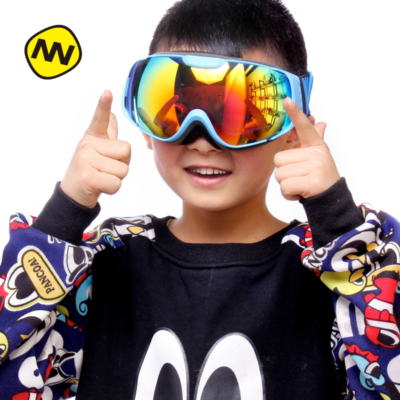 NANDN Ski goggles double UV400 anti-fog big ski mask glasses skiing men women snow snowboard goggles NH6002 nandn brand ski goggles double uv400 anti fog ski glasses mask skiing men women snow eyewear snowboard goggles exchangeable lens