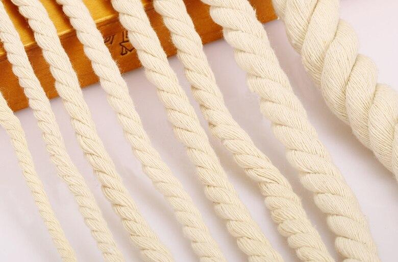 ⓪10 metros/lote trenzado tejido trenzado DIY del algodón que ...