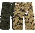 Мужчины Случайные Короткие Брюки Капри Камуфляж Армии Боевой Cargo Shorts2016 Новые летние мужчины военных грузов шорты камуфляж шорты для мужчин