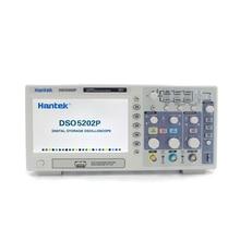 Hantek DSO5202P Digital Oscilloscope แบบพกพา 2 ช่อง 200MHz Osciloscopio LCD PC USB Handheld Oscilloscopes Multimetro