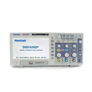 Image 1 - Hantek DSO5202P Digital Oscilloscope Portable 2 Channels 200MHz Osciloscopio LCD PC USB Handheld Oscilloscopes Multimetro