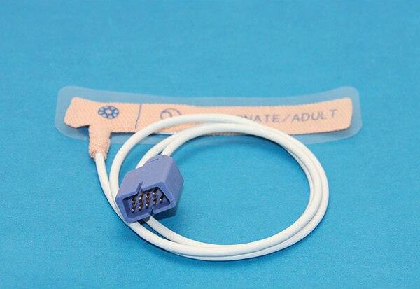 € 35 15 |Nellcor Oximax Compatible desechables SpO2 Sensor para Recién  Nacido adulto adhesivo sonda 10 piezas paquete en de en AliExpress com |