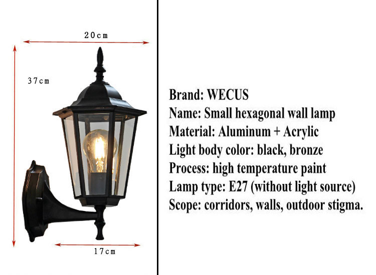 High Quality european wall lamp