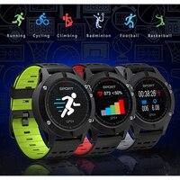F5 MTK2503 Waterproof GPS Smart Watch Heart Rate Monitor Bluetooth 4.2 Sports Fitness Smart Wristband