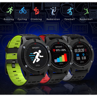 F5 MTK2503 GPS Smart Watch Band Waterproof Heart Rate Monitor Sports Fiteness Tracker Altimeter Barome Thermometer Bluetooth 4.2
