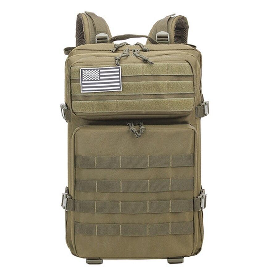 45L homme armée tactique sacs à dos grande capacité militaire assaut sacs en plein air 3P EDC Molle Pack pour Trekking Camping sac de chasse