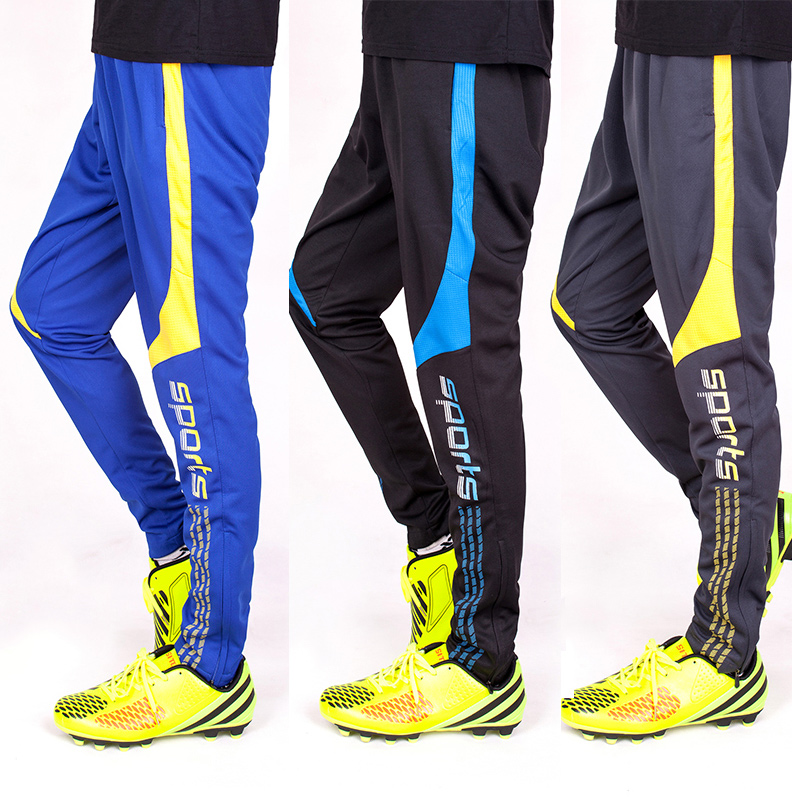 Jogger Pants Football Training Soccer Pants Active Jogging Trousers Sport Running Track GYM clothing Men Sweatpant 9203