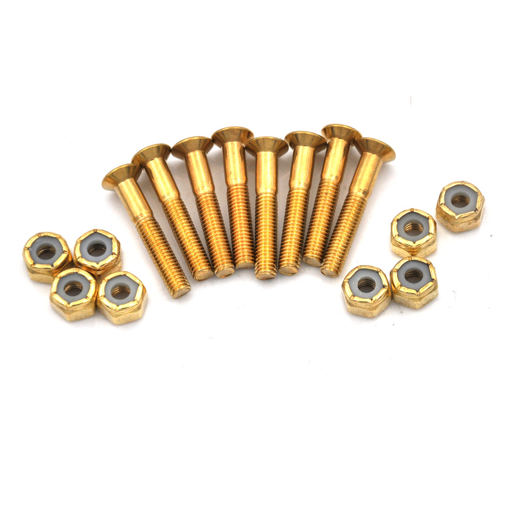 8pcs/lot Screw Skateboard Nails Longboard Parts Accessories Bolts Set 1.18 Hot Sale