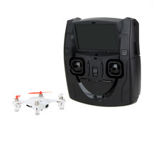 X4 H107D RC Mini FPV Quadcopter 5.8G RTF 6-as Systeem Drone met Camera LCD Zender(China)