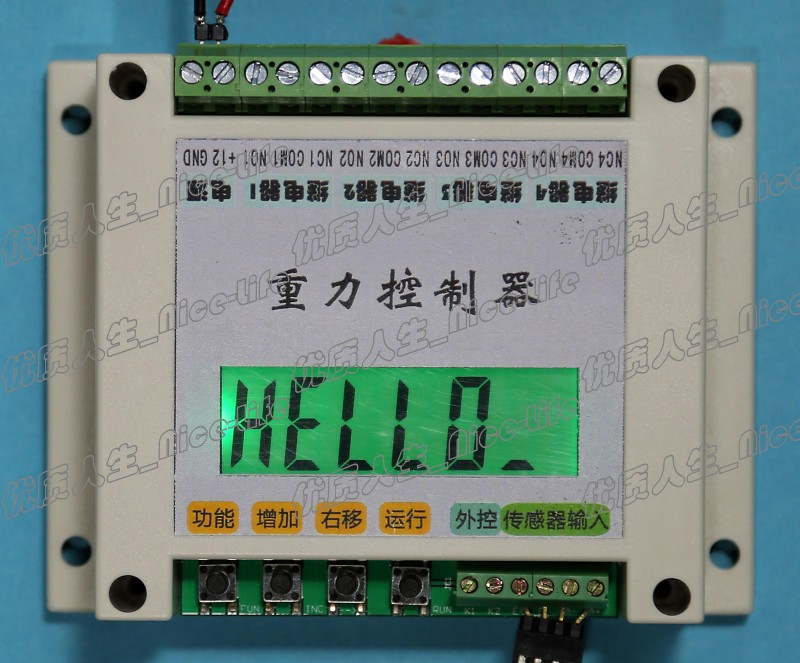 Key Setting Weight Weight Tension Pressure Gravity Controller Pulse 485 Communication PLC WC05