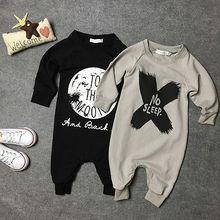 Комбинезон для мальчиков и девочек, одежда для новорожденных