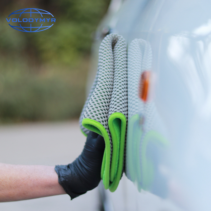 Image 5 - Microfiber Towel Car Wash Cleaning Tools Soft Drying Special Mesh Design Super Absorbent Auto-in Sponges, Cloths & Brushes from Automobiles & Motorcycles