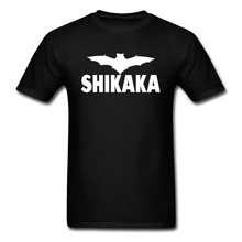 Ace Ventura Shikaka film t-shirts noir chevalier noir Batman capitaine Marvel t-shirt héros Spriderman Superman Cool t-shirt hommes(China)