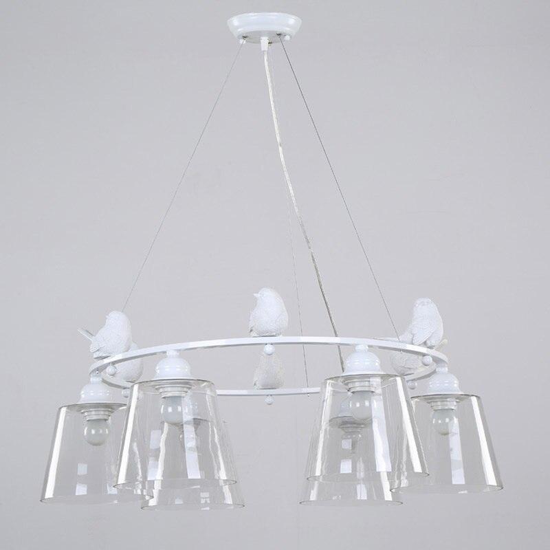 Moderna Lámpara Colgante de Luz E27 220 V Para la Decoración del ...