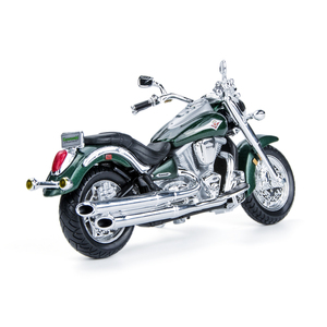 Image 3 - Maisto 1:18 Motorcycle Models Kawasaki Vulcan 2000 Diecast Plastic Moto Miniature Race Toy For Gift Collection