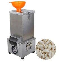 Коммерческий Чеснок пилинг машина Электрический чеснок овощечистка нержавеющая сталь автоматическая для сухого чеснока пилинг машина для продажи