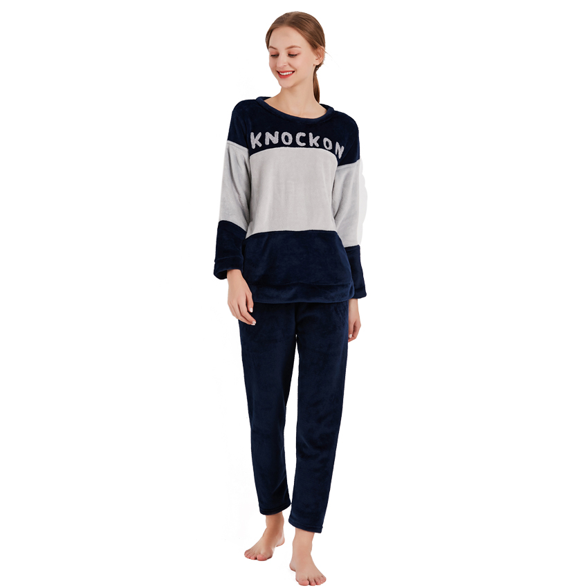 fa88bcf601 ... Thick Warm Flannel Pajamas Sets Winter Women Two Piece Pajama Set  Cartoon Female Sleepwear Home Clothing Women s Pajamas Suit. Previous. Next