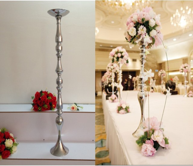 Wholesale wedding flower ball holder road lead