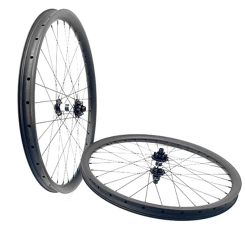 29er carbono mtb rodas DT350S impulso 110x15 148x12 6-parafuso bicicleta mtb rodas 35x 25mm 1420 falou rodas de Bicicletas de Montanha